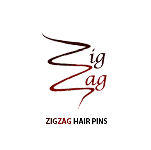 ZigZag hair pins