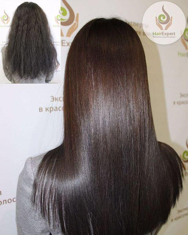 Техника выполнения ботокс для волос